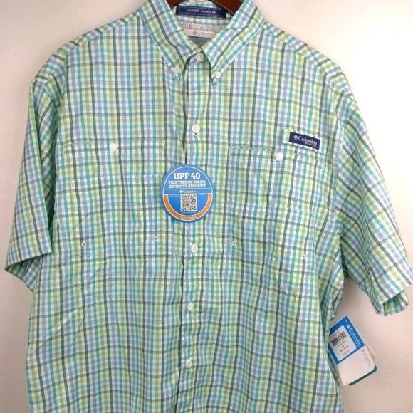 32897db7ab1 Columbia Shirts   New Pfg Short Sleeve Shirt Vented Medium   Poshmark